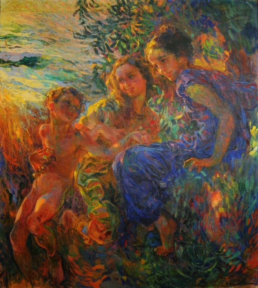 Neo Impressionism: Plinio Nomellini (Livorno 1866