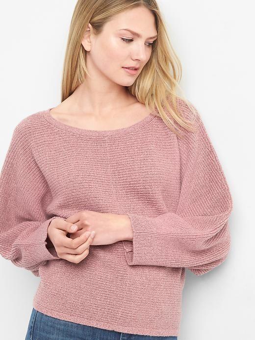 0e24b6baa Gap Womens Textured Boatneck Pullover Pink