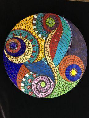 Paradise Stained Glass Mosaic Mandala Mosaik Mosaik Muster Mosaikmuster