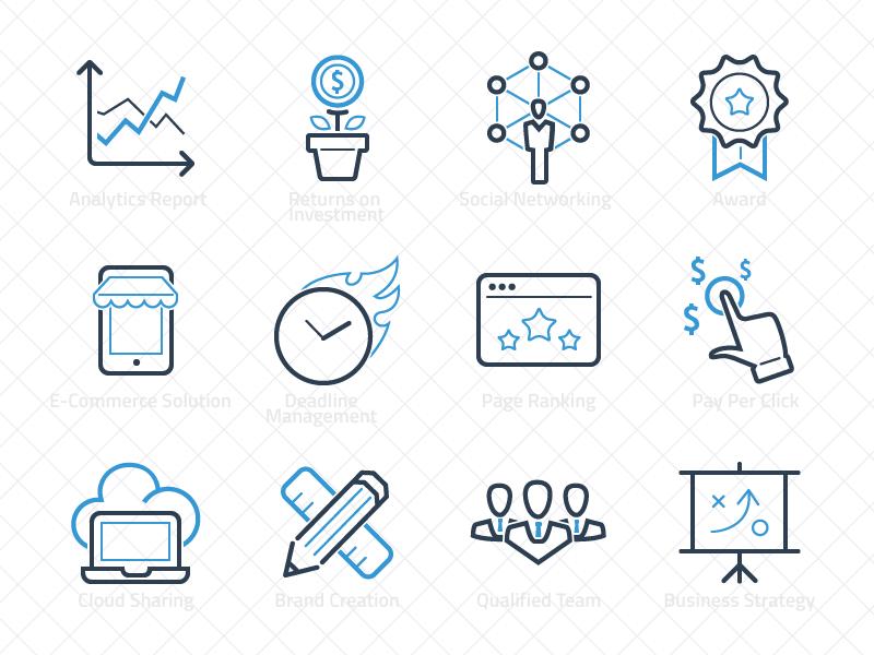 Ikooni Seo Web Icon Design Brand Creation Web Icons