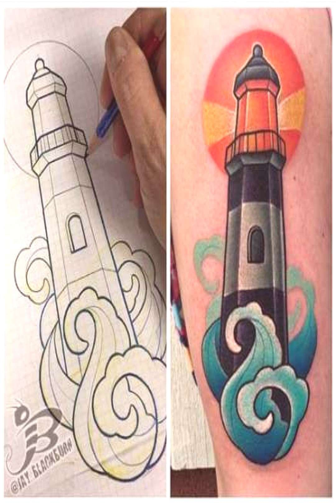 29+ Trendy tattoo traditional lighthouse old school 29+ Trendy tattoo traditional lighthouse old scYou