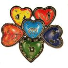 Heart-shape dishes
