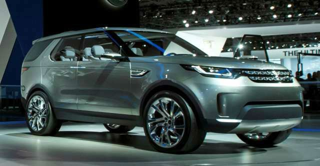 Land Rover 2017 Lr4 Models