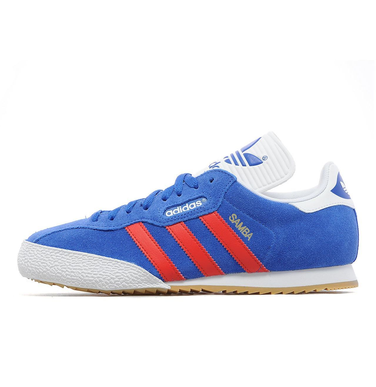 big sale 47185 9fa2b Adidas Samba Super - Satellite Blue   Red   White