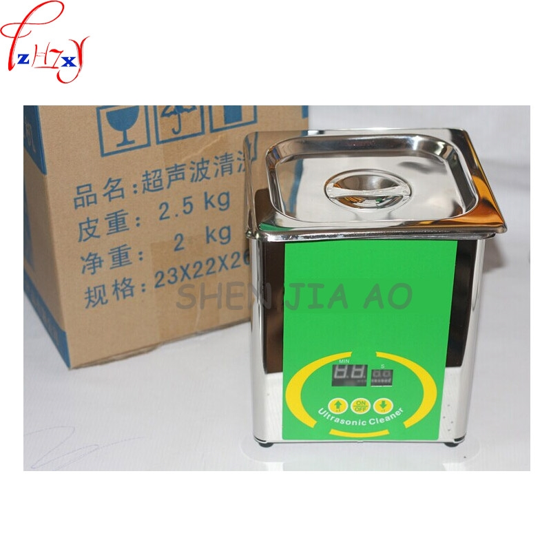 57.00$  Buy here - Stainless steel ultrasonic cleaning machine 80W hardware ultrasonic cleaner 304 stainless steel (NSF certification) 1pc  #aliexpresschina