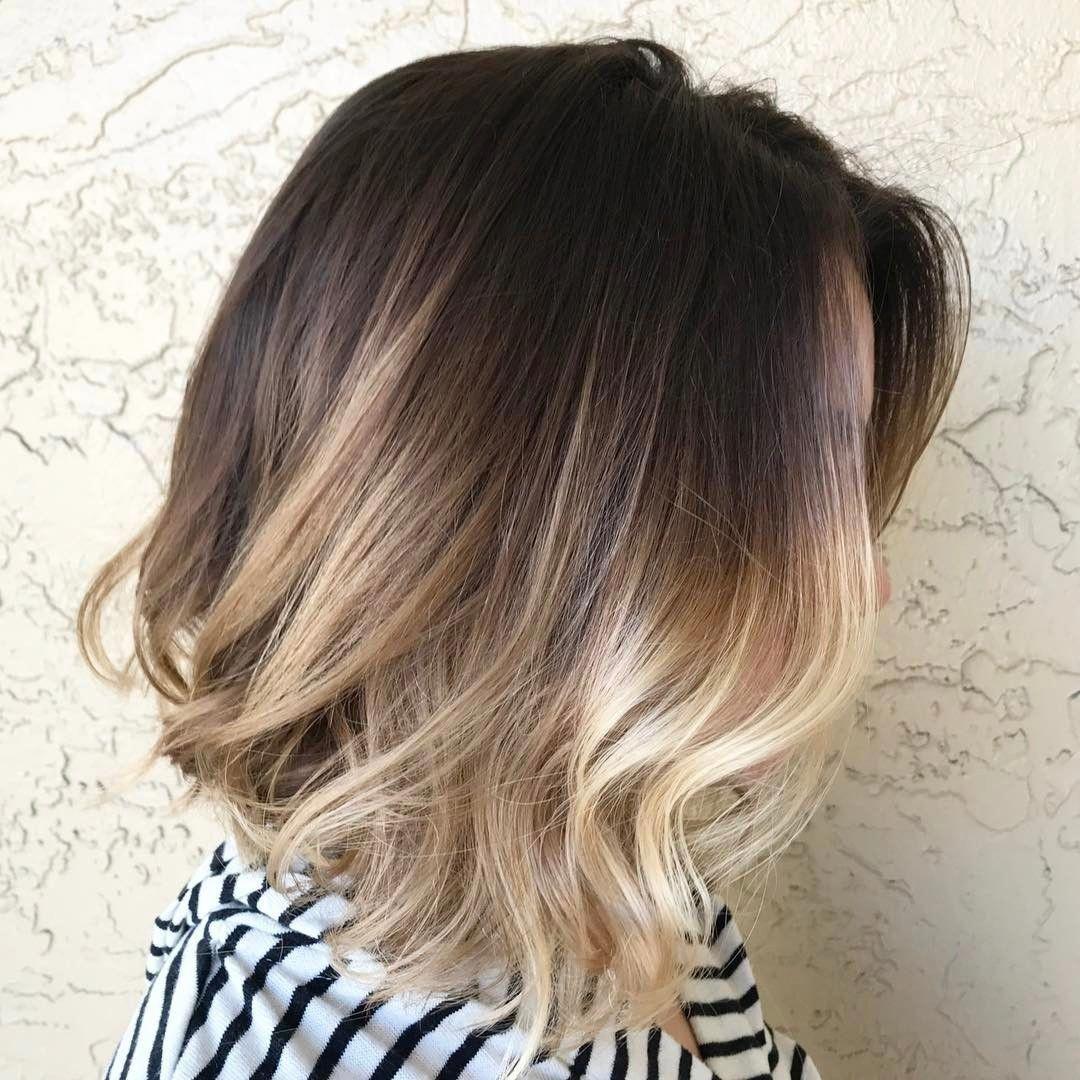 Cool 50 Mesmerizing Ways Of Wearing Balayage Short Hair Try It Yourself Short Hair Balayage Balayage Hair Blonde Short Short Ombre Hair