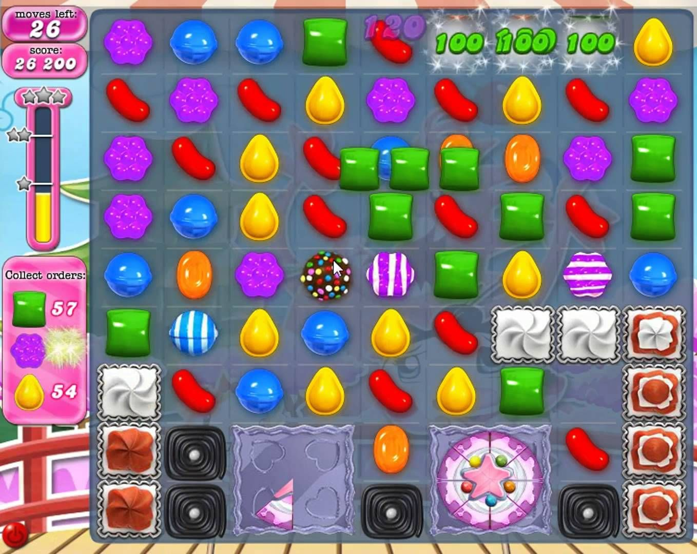 Enter into the magical world of candies. Match and switch