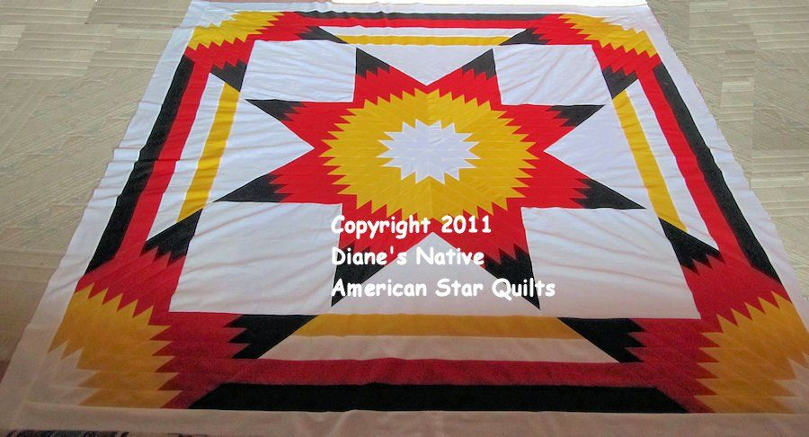 Lakota Star Quilt Patterns Dianes Native American Star Quilts