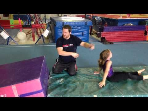 all the handstand forward roll drills  swing big