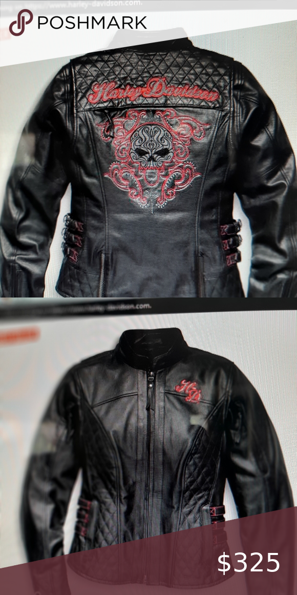 Women's Harley Davidson leather jacket in 2020 Harley