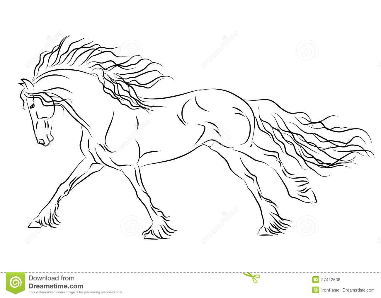 Pin By Carole Demers On Hoby Horse Coloring Pages Horse Sketch Horse Coloring [ 1018 x 1300 Pixel ]