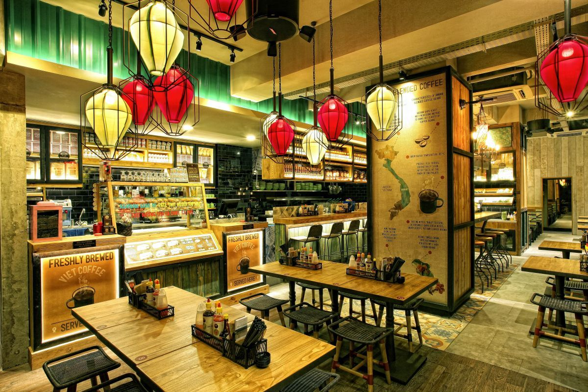 Namnam noodle bar by metaphor interior pantai indah