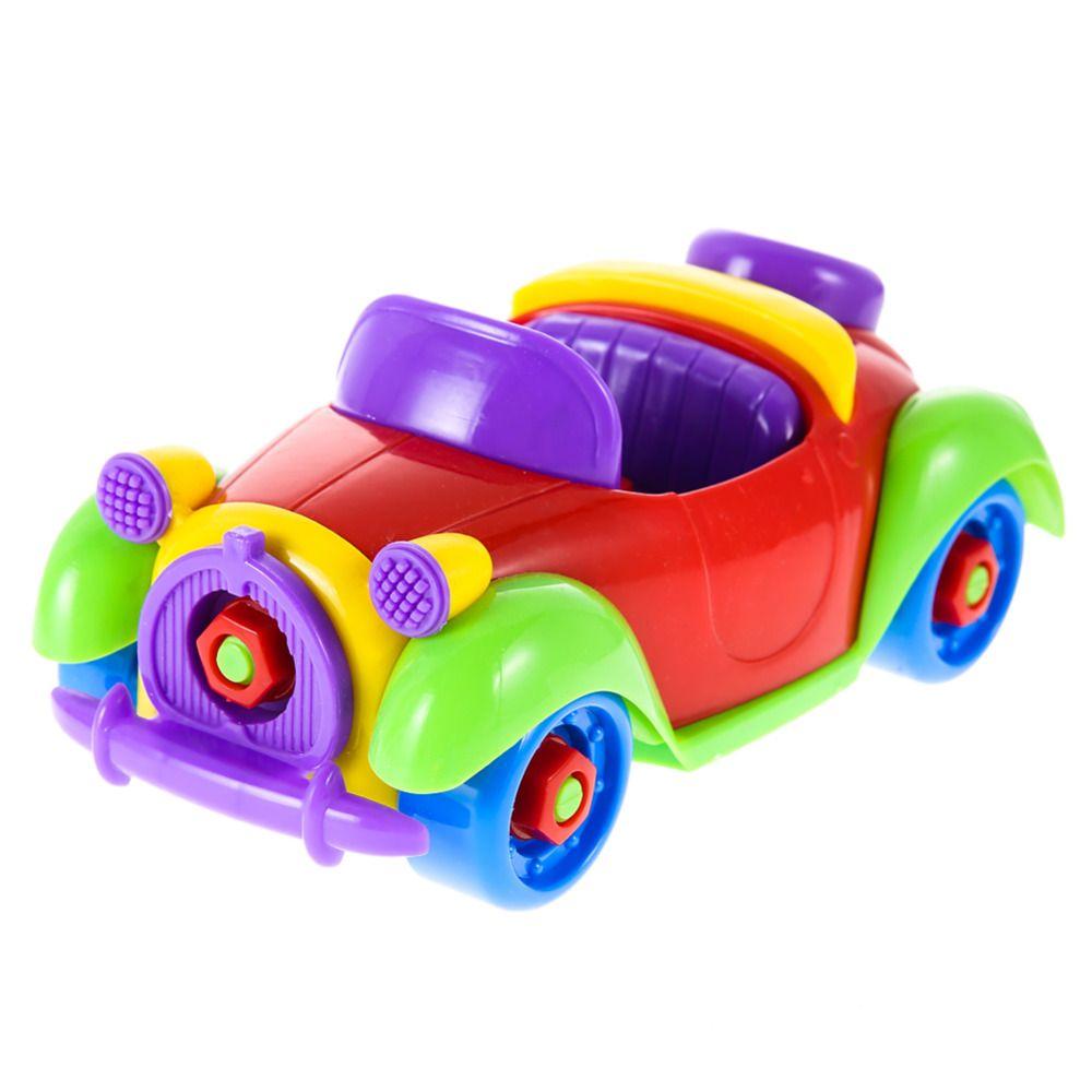 Anak Anak Mobil Toys Multi Warna Lucu Bayi Abs Plastik Mobil