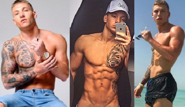Brandon Mobili ~ New popglitz mtv s ex on the beach star brandon myers is a