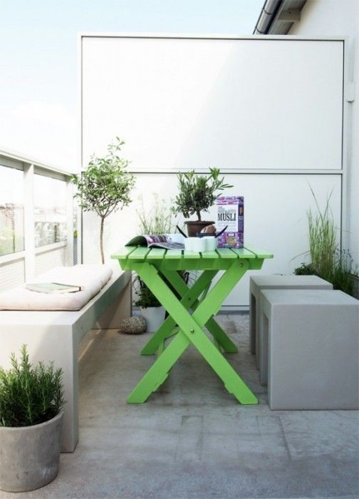 arredo-minimal-balcone | Outdoor | Pinterest | Balcony design ...