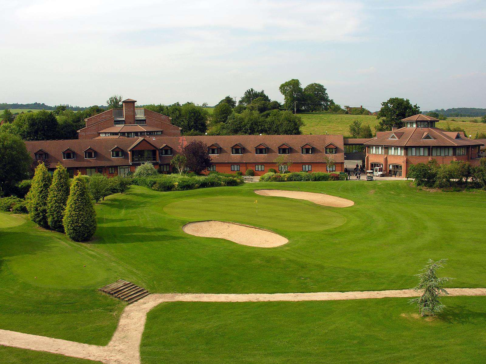 The Abbey Hotel, Golf and Country Club Golf courses