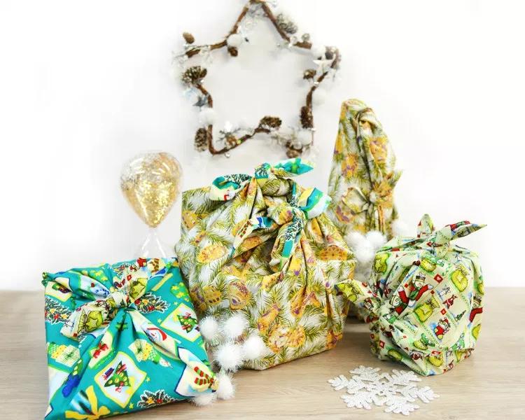 Tuto de Noël : Les emballages Furoshiki