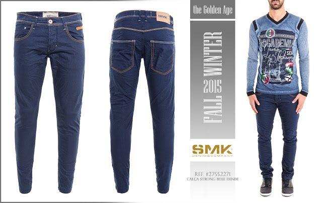 SMK DENIM&Co. | CALÇA STRONG BLUE DENIM