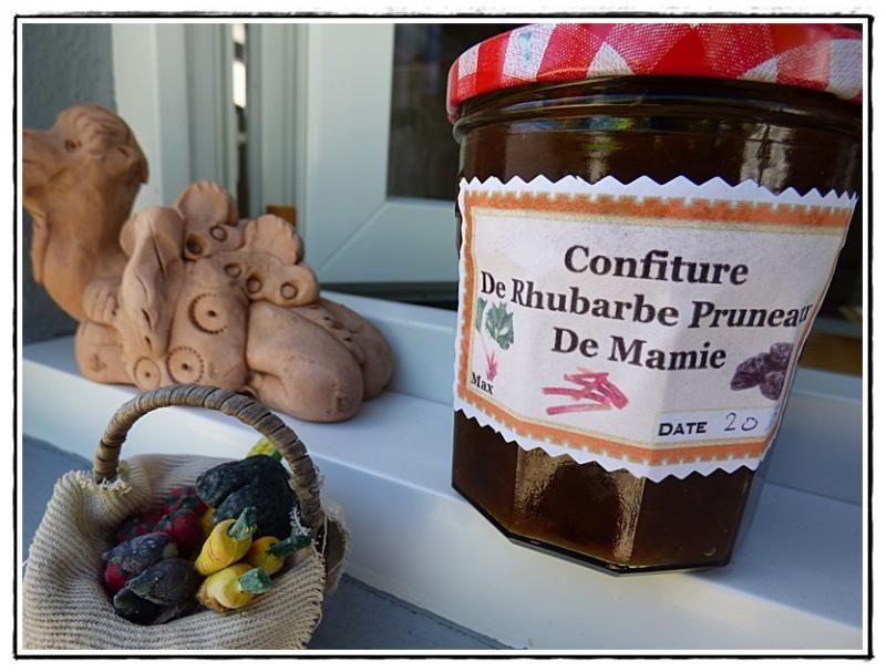Confiture De Rhubarbe Aux Pruneaux Au Thermomix Blog La