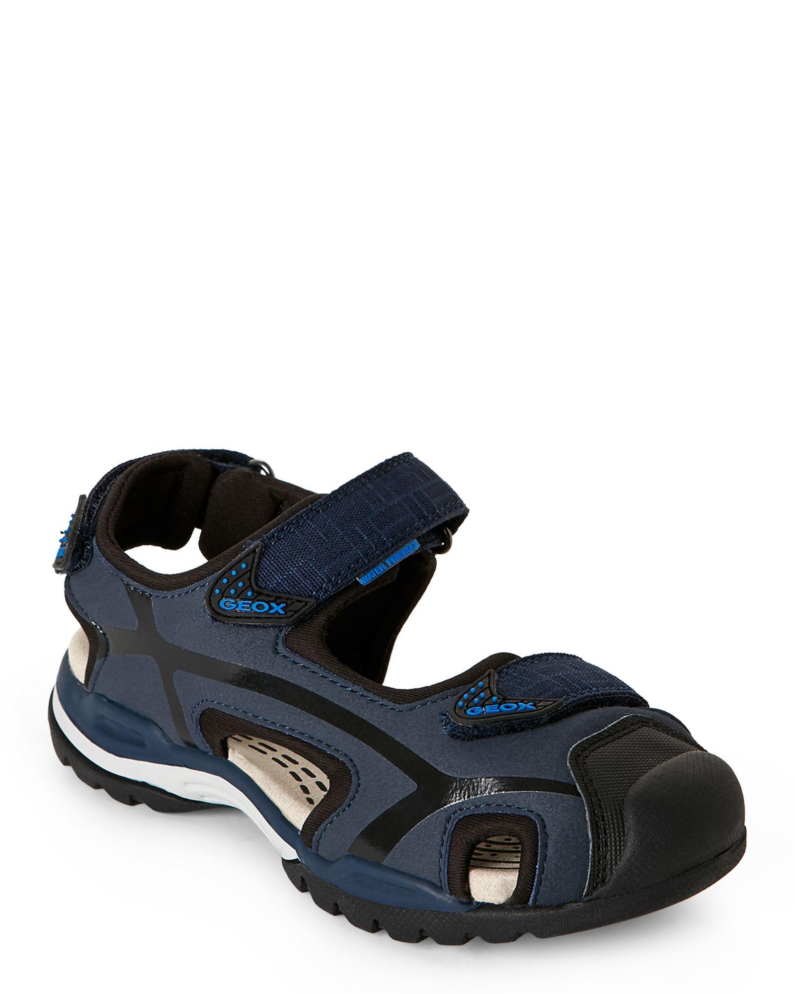 Geox Respira (Kids Boys) Navy & Black Borealis Sandals