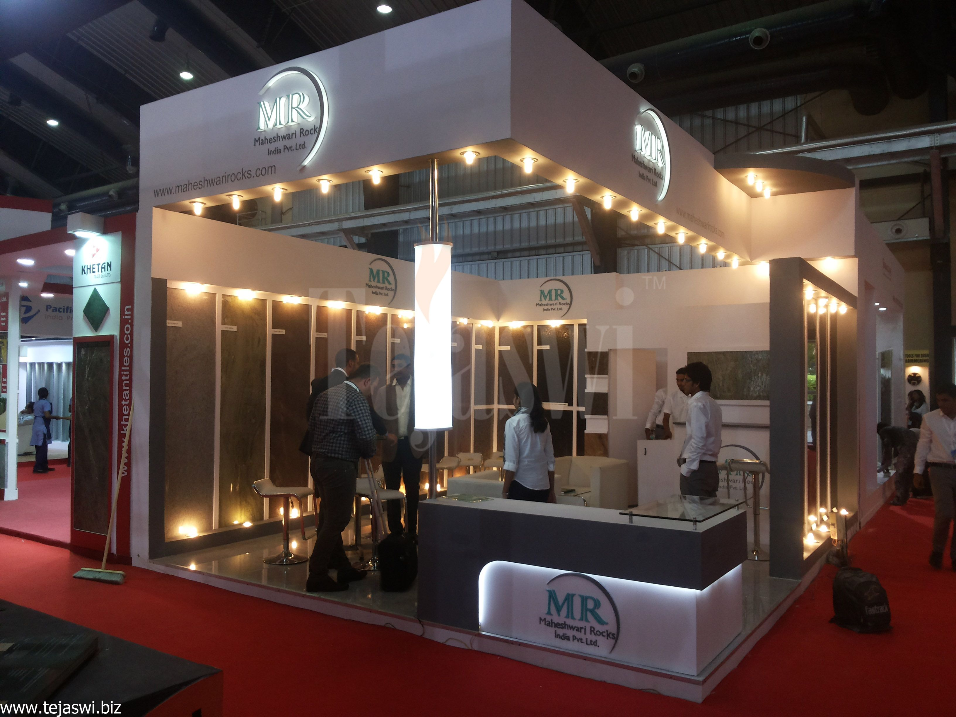 Exhibition Stand Builders Bangalore : Raw space exhibition stand construction trade fair
