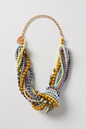 Knotty Necklace: so eclectic and easy-breezy