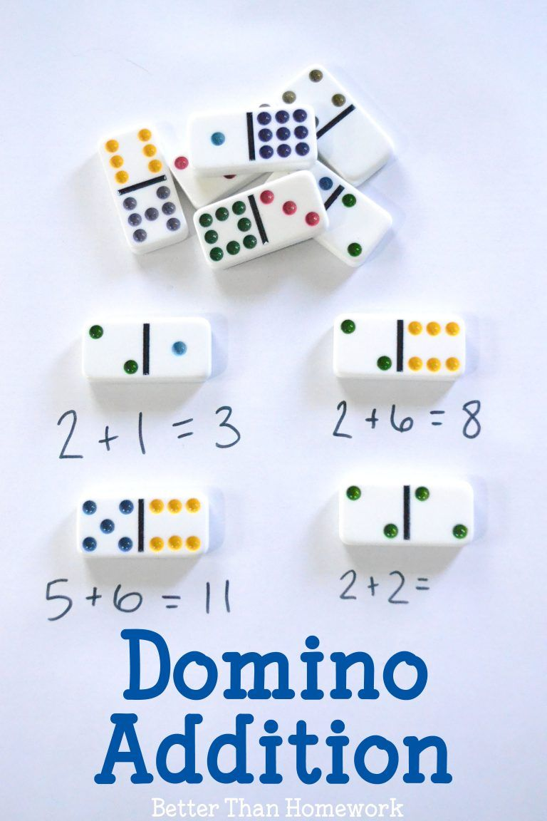 Domino Addition | Simple math, Math activities and Math