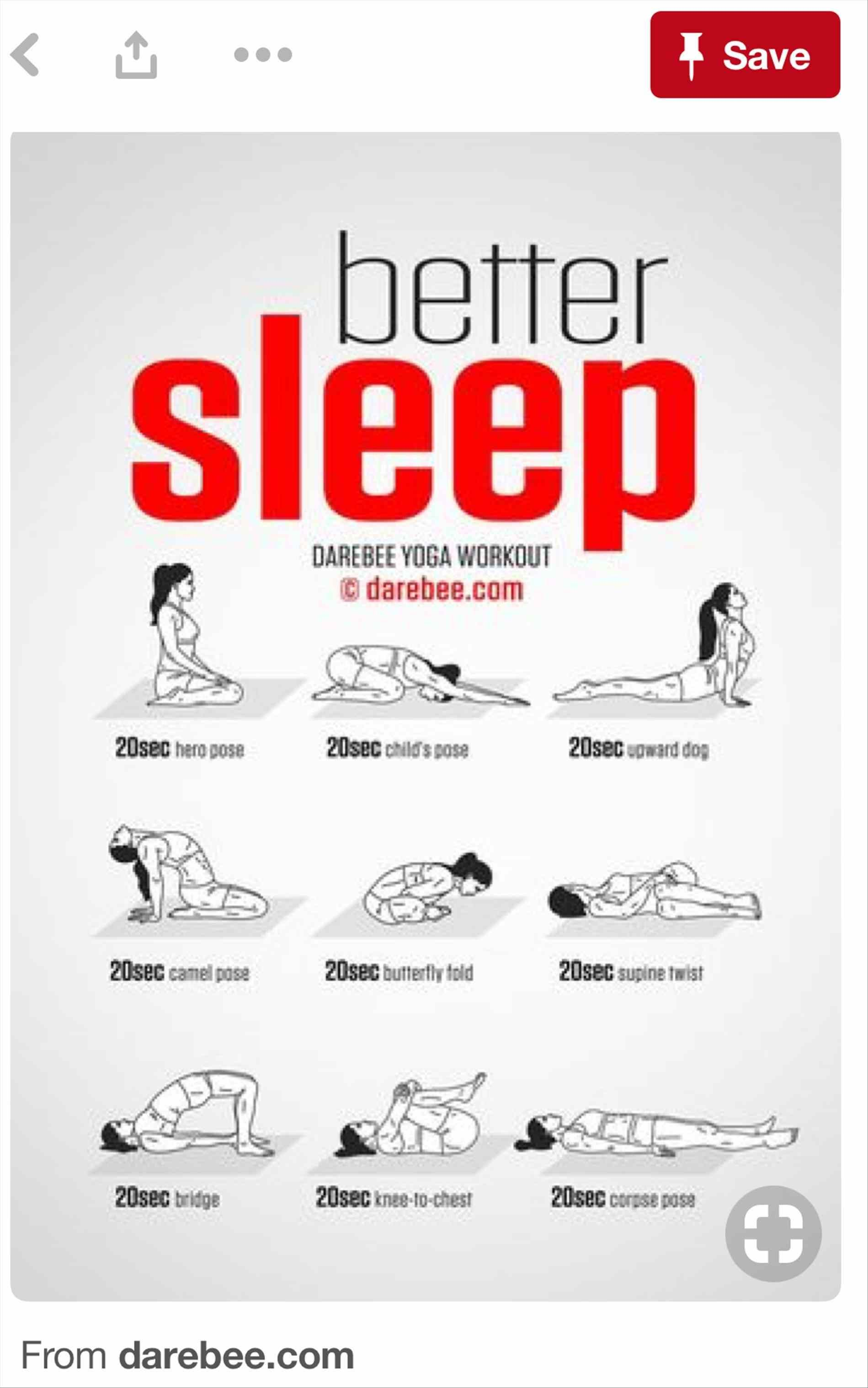 Easy Yoga Poses Before Bed