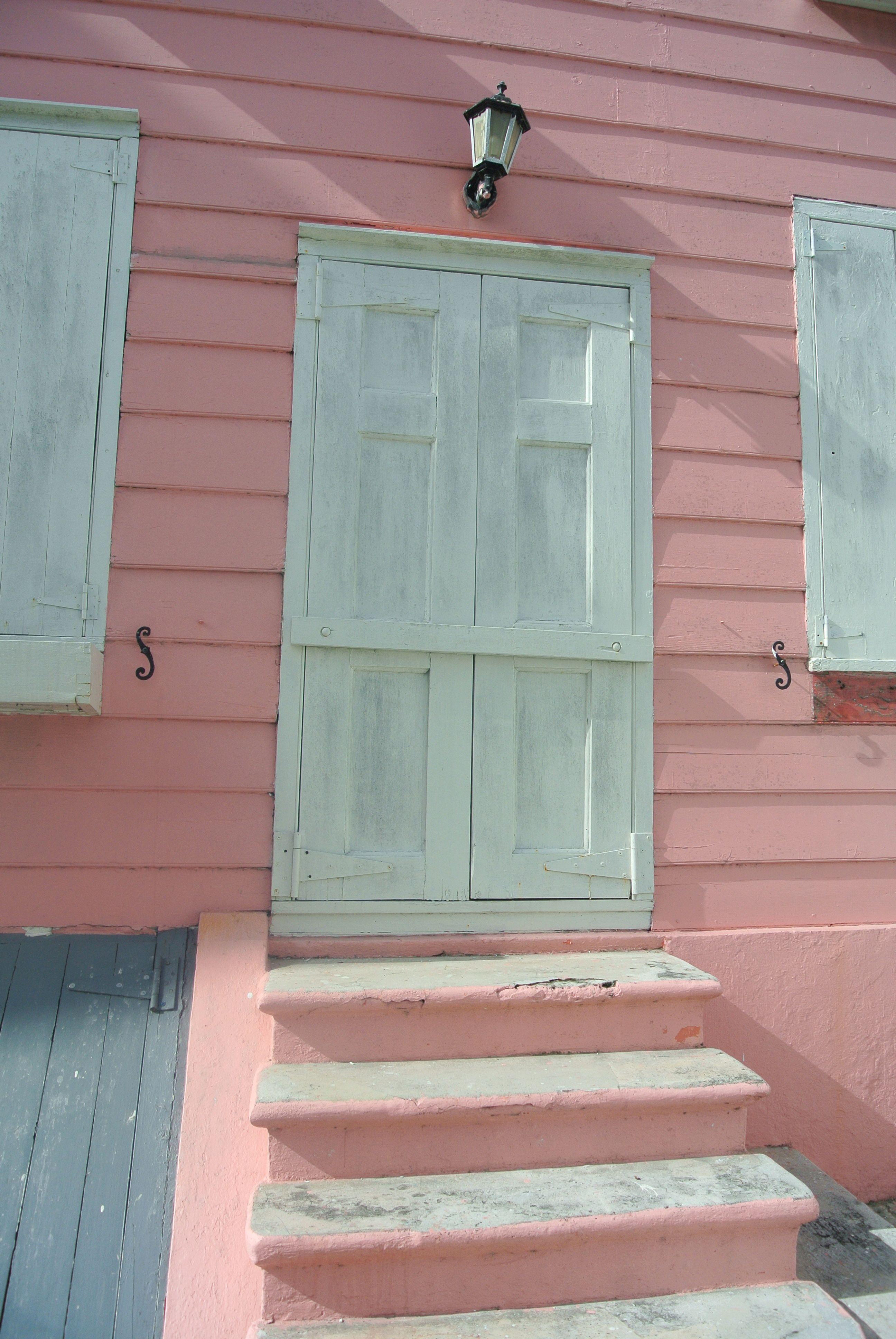 White And Pink Door, Nassau, Bahamas