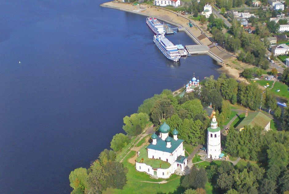 Uglich. The Kremlin, Yaroslavl Region // Uglich is a