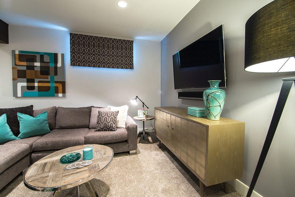 15 Amazing Midcentury Basement Designs lower level remodeling