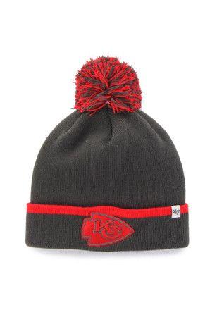 d6183c645 47 Kansas City Chiefs Grey Baraka Knit Hat