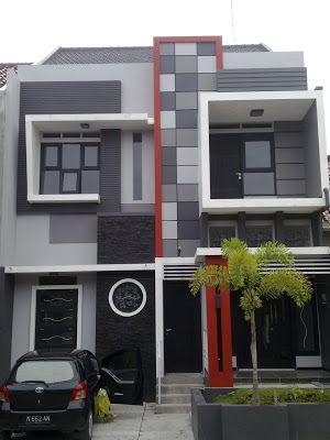 Lipzoo Memilih Warna Cat Eksterior Rumah Minimalis Architecture