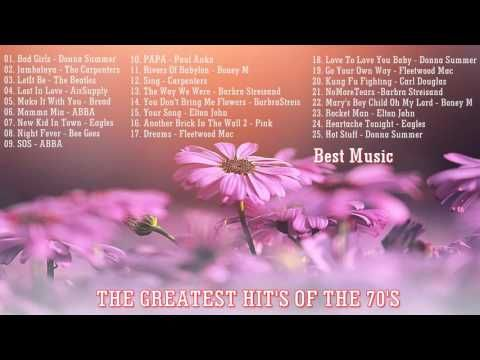 Greatest Music Hits Of The 70's part 2