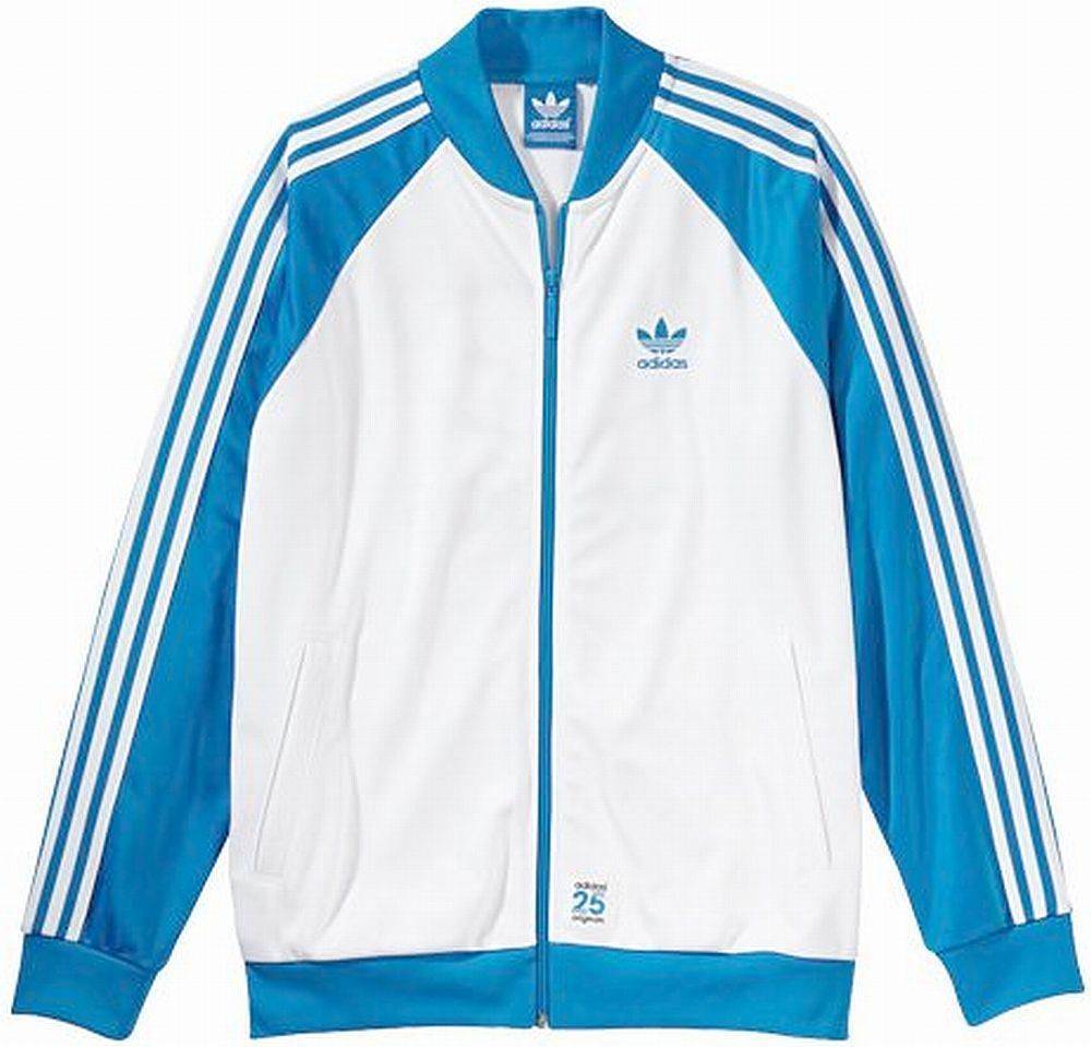 ADIDAS JAPAN NIGO BEAR SUPERSTAR TRACK TOP JACKET Blue-White new limited