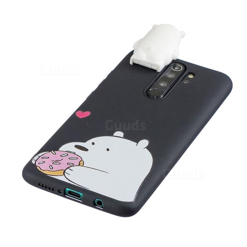 Big White Bear Soft 3d Climbing Doll Stand Soft Case For Mi Xiaomi Redmi Note 8 Pro Guuds Com Wholesale Dropshipping Case Guuds Doll Stands Case White Bear
