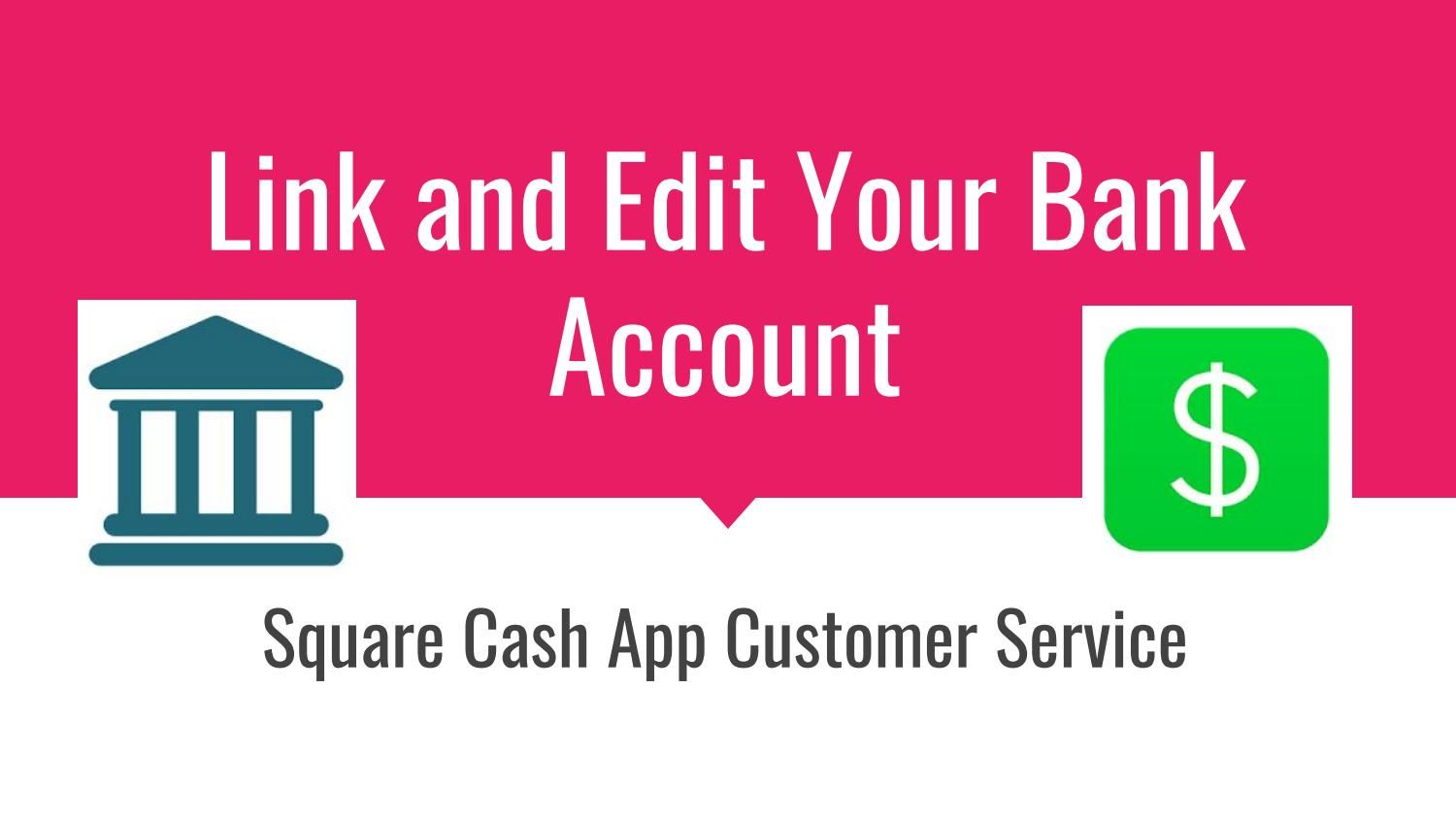 How To Link Bank Account In Square Cash App Bank account