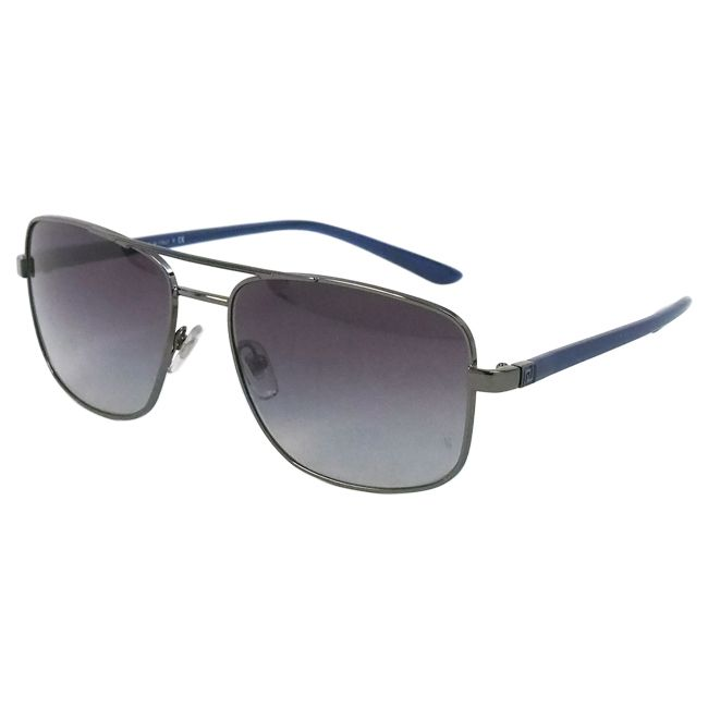 These Versace men's sunglasses are the perfect accessory for sunny days. These fashion glasses feature 100 percent UVA protection and have a stainless steel and plastic frame that fits comfortably on your face.