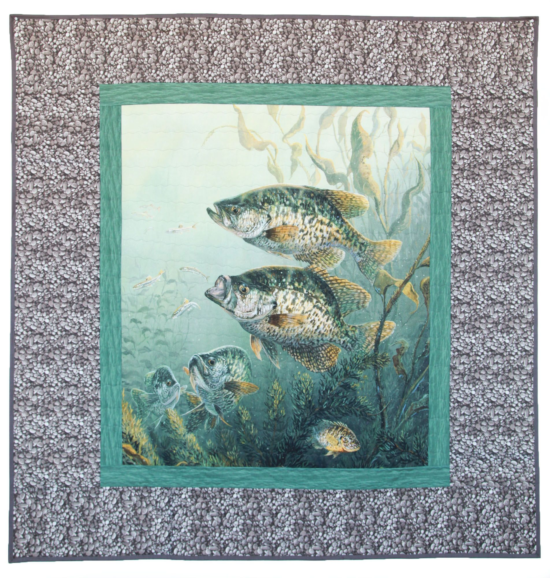 Fish Fowl Crappie Panel Quilt Tutorial Riley Blake Designs Panel Quilts Fish Quilt Quilts