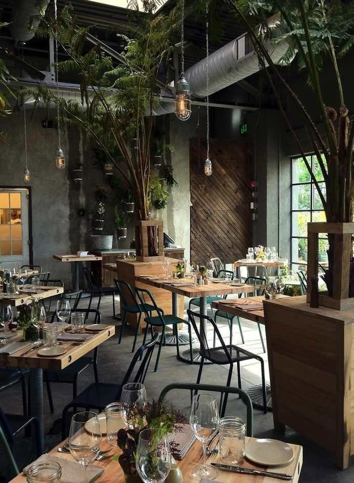 Restaurant Weddings for Modern Inspiration | Cafe interior ...