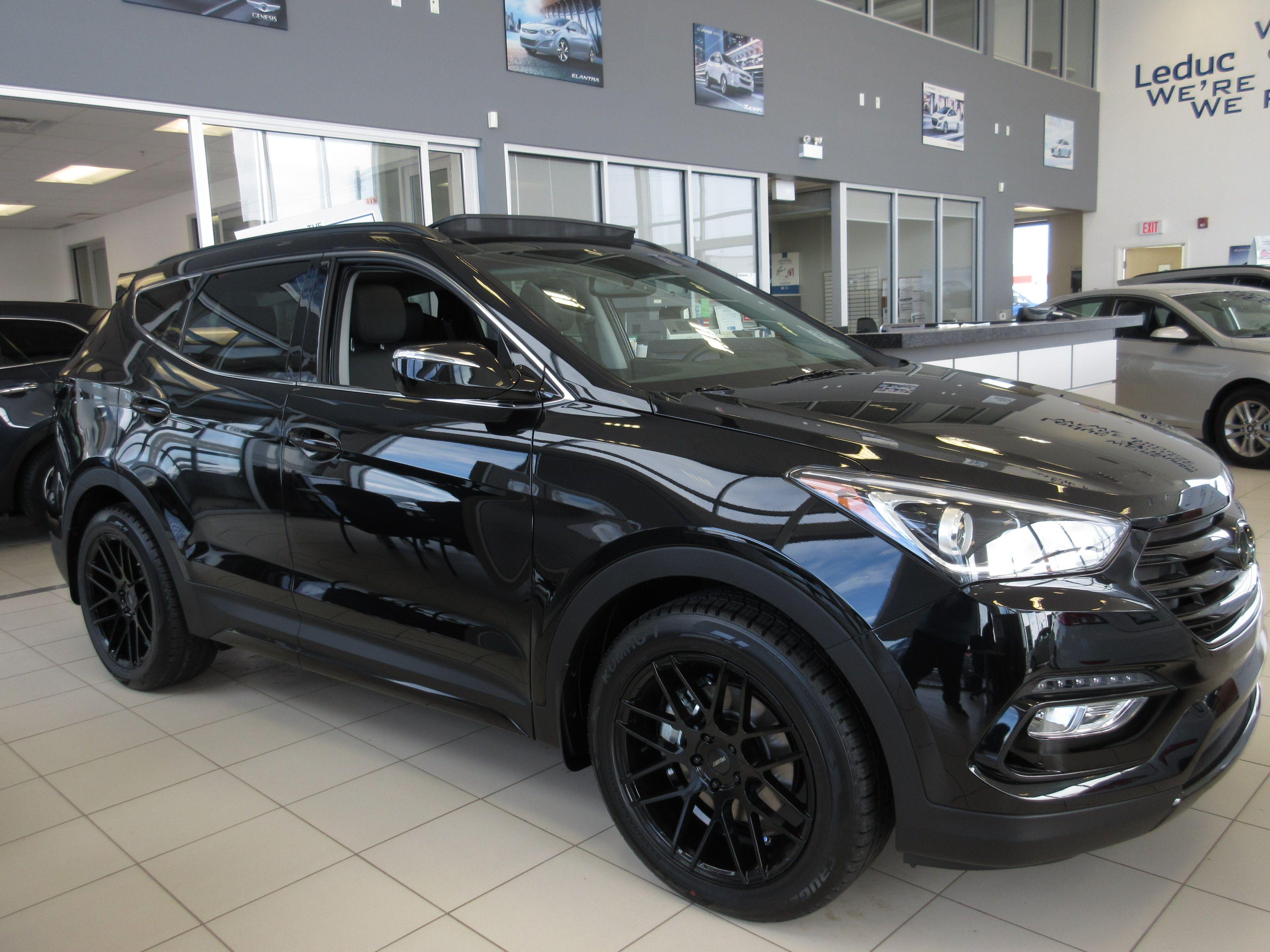 2017 Hyundai Santa Fe Sport Limited Black Edition This