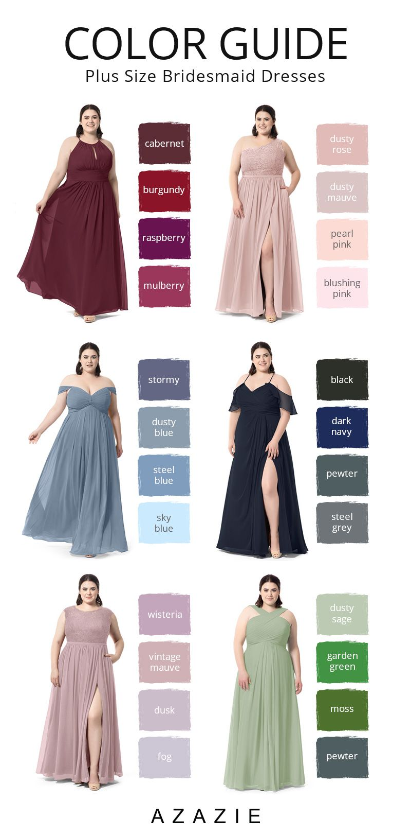 Plus Size Bridesmaid Dresses Color Guide Bridesmaid Dresses Plus Size Plus Size Bridesmaid Bridesmaid,New York City Hall Wedding Dresses