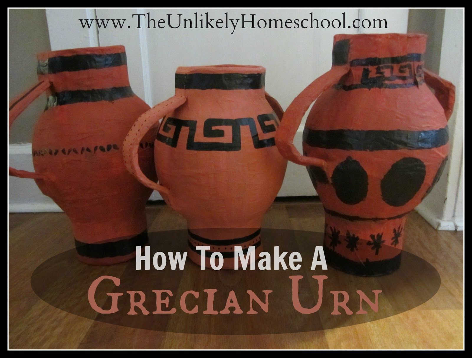 Greece Unit How To Make A Grecian Urn