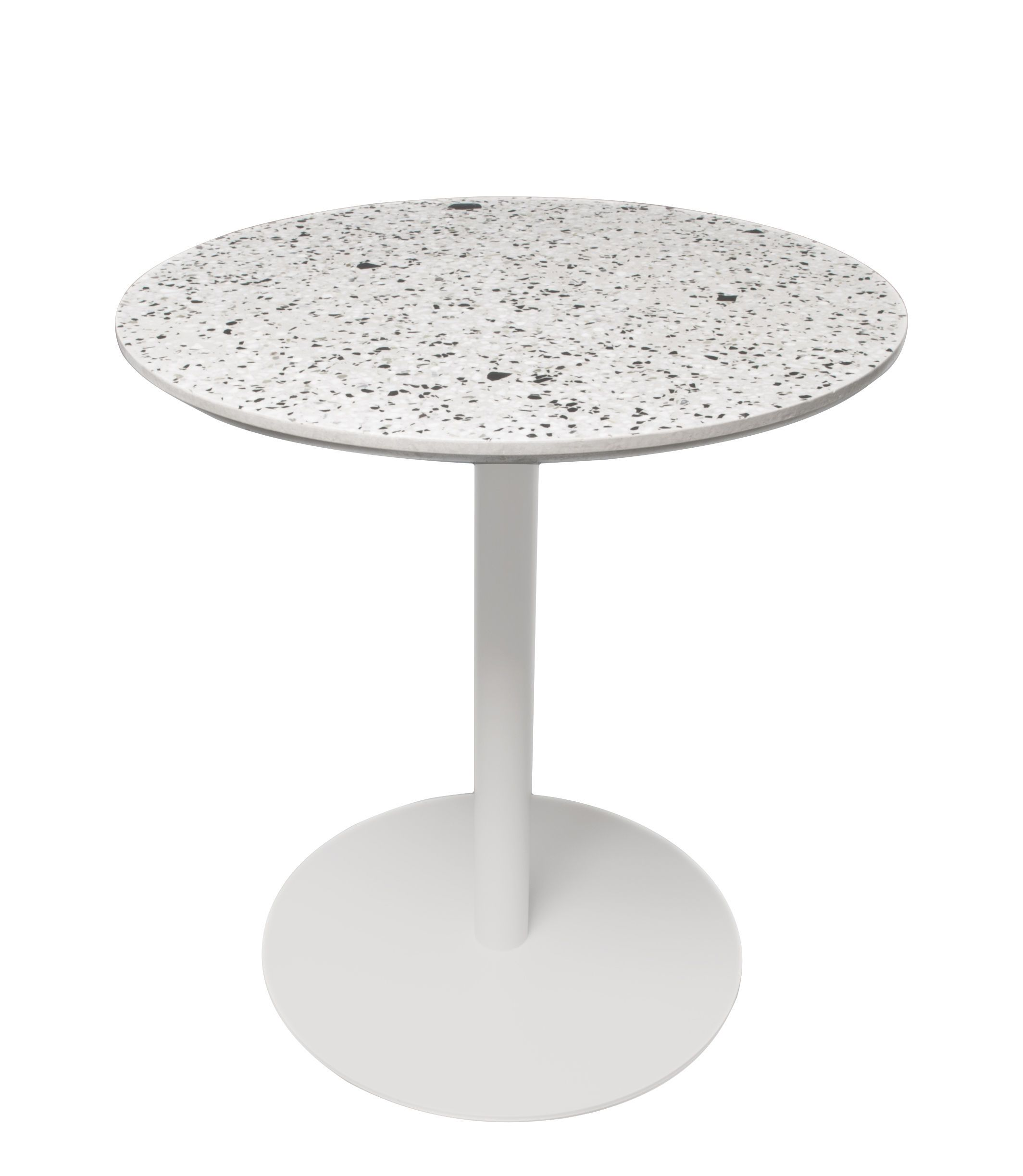 Xl Boom Terrazzo Round Table White Made In Design Uk