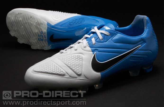 best loved 27be7 723ad Nike Football Boots - Nike CTR360 Maestri II FG - Firm Ground - Soccer  Cleats - White-Black-Blue Glow
