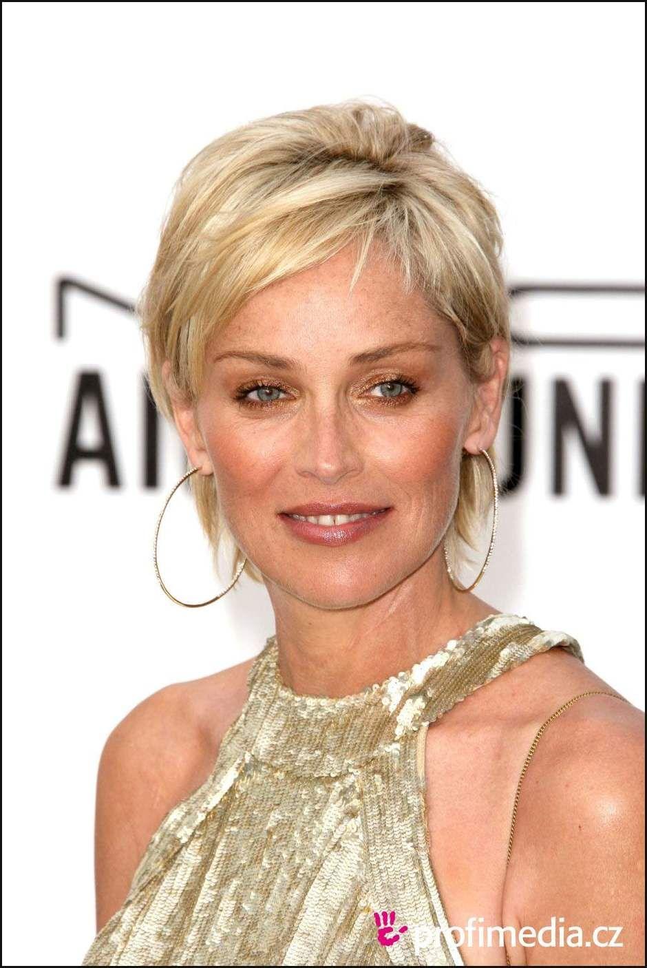 Sharon Stone Promi Frisur Zum Ausprobieren Sharon Stone