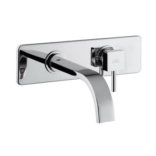 WS Bath Collections Level LEA 101 Fonte Wall Mounted Single Handle ...