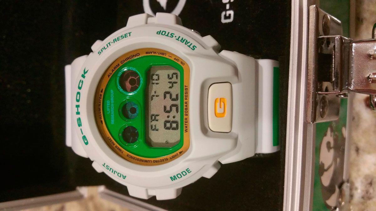 Dw 6900 G Shock And Lrg Time Is Money Collaboration Casio Jam Tangan Ga 110mc 1adr Original Limited 2