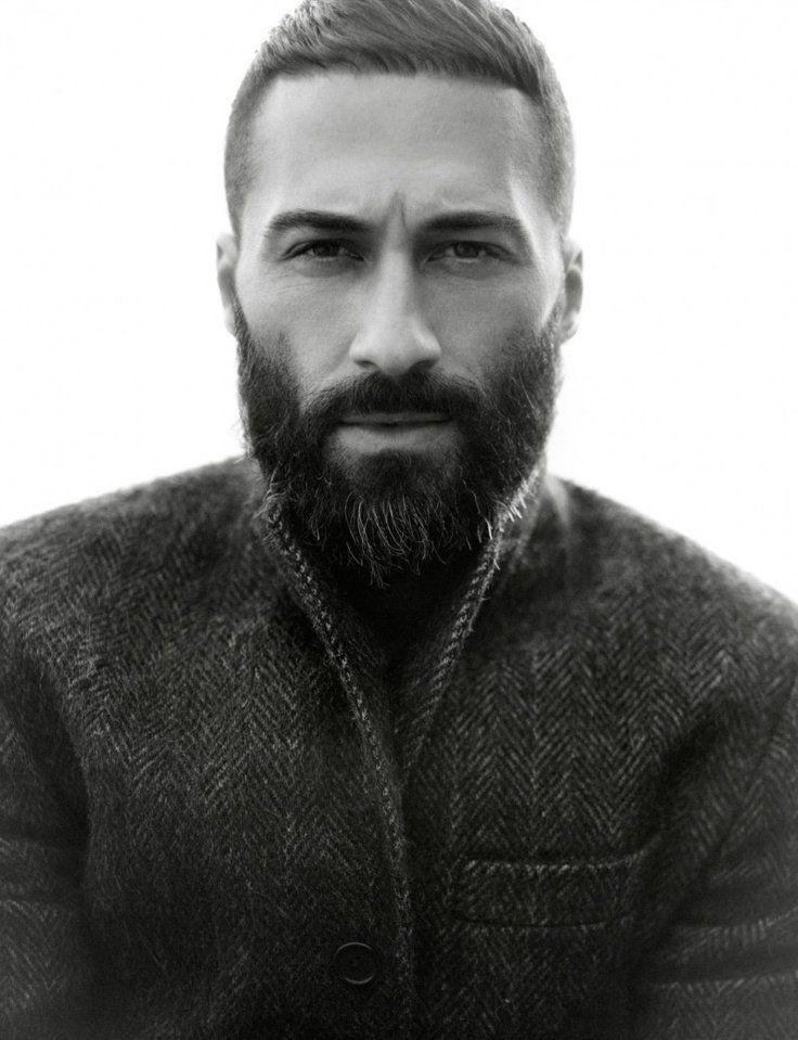 Beard With Very Short Hair Menhaircutideas Com Short Hair Long Beard Beard Styles For Men Beard No Mustache