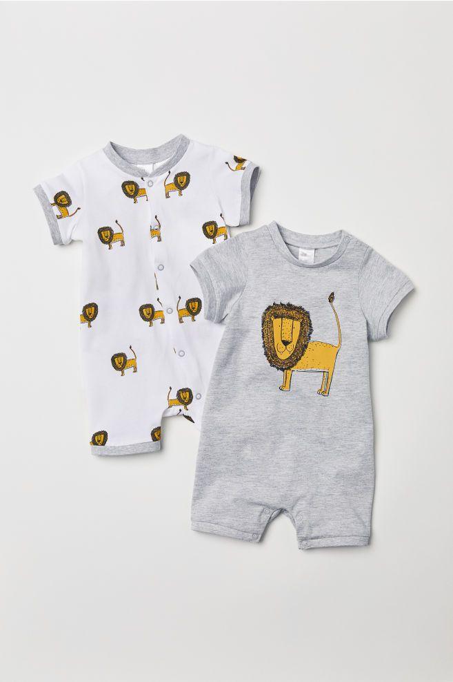 sehr schön 53f5e cf783 2-pack Pajamas | Jungle | Baby, Baby boy fashion, Baby boy ...